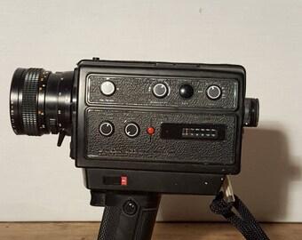1970s Chinon 806 SM Direct Sound 8mm Super 8 Movie Camera