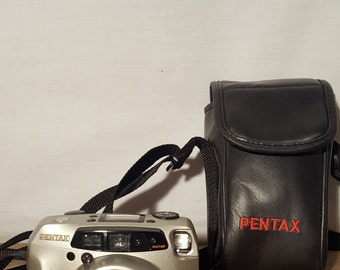 CLEARANCE SALE! Pentax IQ Zoom 160 35mm Camera with case