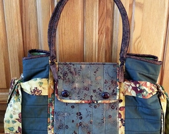 Large Olive Green Carry~ All~ Bag or Over~Night~Bag…