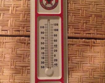 1931 texaco  thermometer