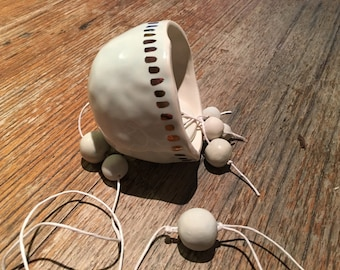 Handmade Porcelain bell