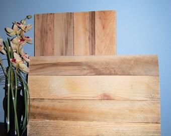 BLANK SLATE pallet wood signs