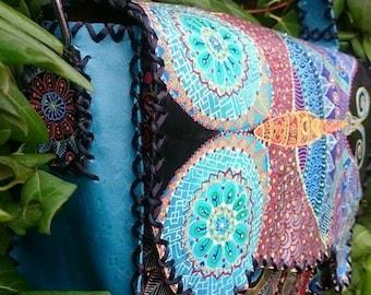 Handmade leather bags ...handmade painted bags...