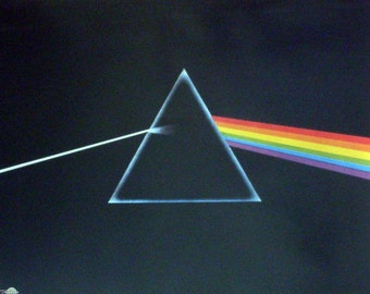 Pink Floyd 23x35 Dark Side Of The Moon Music Poster 1994
