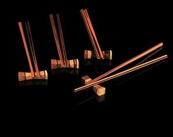 Chopsticks with bench, Set of 4, Color