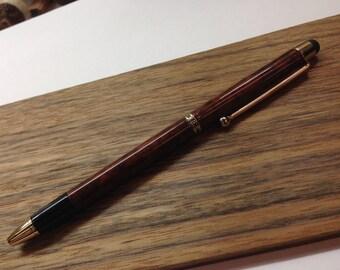 Pen stylex turned