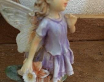 Little Purple Fairy Bud Vase