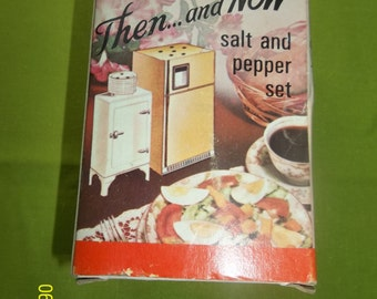 vintage salt and pepper -Then and now