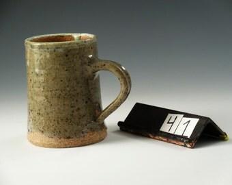 Stoneware Mug With Ash Glaze #41