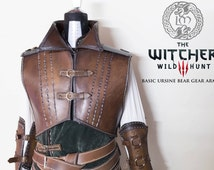 Male Armor- Larp - The Witcher 3 inspired design