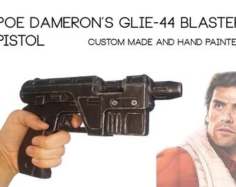 Poe Dameron Glie-44 Blaster pistol Replica prop - Star Wars the force awakens