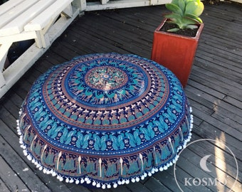 Large bohemian floor cushion -COVER ONLY