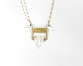 Clear Couture - necklace