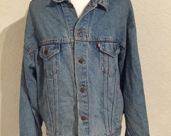 Vintage Levi's Denim Jacket Size XL