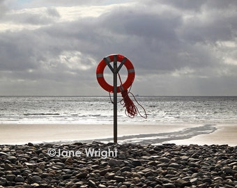 Out To Sea, Pembrokeshire/Mounted Photograph/ Sea/ Shore/Coast