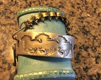 Horses Running Bracelet