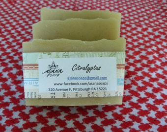 Citralyptus Cold Process Soap Bar