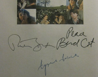 Harold and Maude Signed Film Movie Screenplay Script X6 Autograph Ruth Gordon Bud Cort Tom Skerritt Cat Stevens Cyril Cusack Ellen Geer