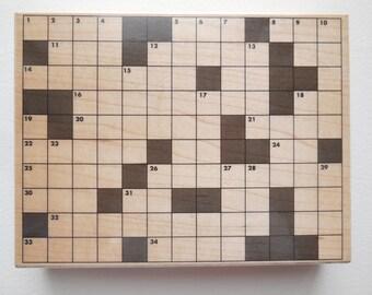 Rubber stamp crossword puzzle - hero arts s5290