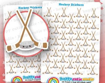 39 Cute Hockey/Sport Planner Stickers, Filofax, Erin Condren, Happy Planner,  Kawaii, Cute Sticker, UK