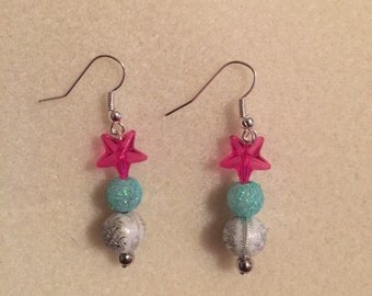 Frosted Day Earrings