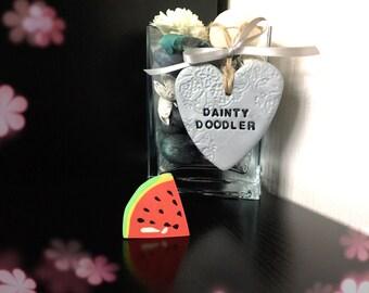 Watermelon Fruit Eraser / Novelty Rubbers / Stationery / Kids / School / Gift