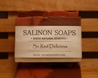 So Red Delicious Soap