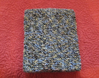 Knit Green/Blue Scarf