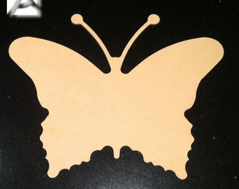 Beatiful 3mm Thick MDF Butterfly - For all your crafting / Art needs