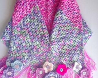 Wrap-around scarf