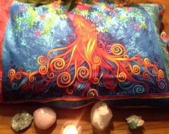 Sacred Spiral Tree of Life Pillowcase