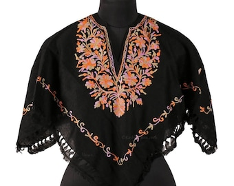 Embroidered Poncho Adult and Teenager