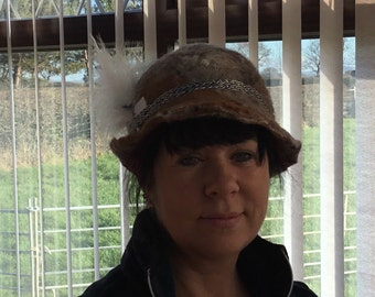 Felted hand made hats