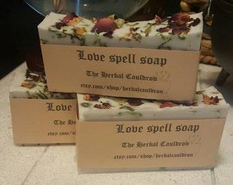 Love spell body soap
