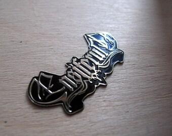 ENSIFERUM Brass Pin, Amon Amarth Drukdh Manegarm Graveworm RARE!!!