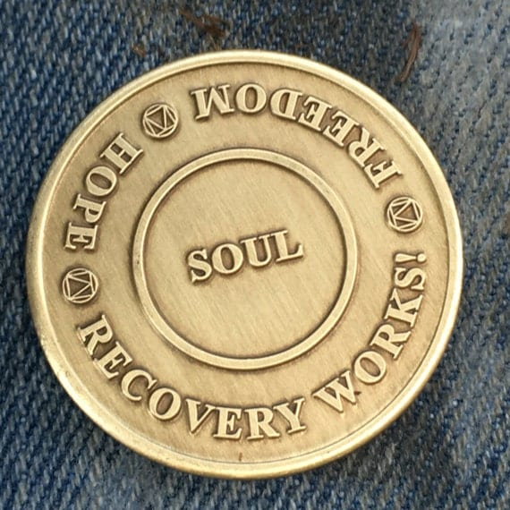 Recovery Works! Sobriety Medallion