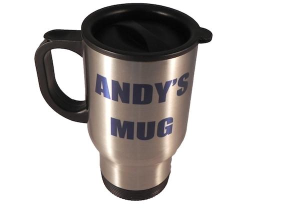 Personalised Travel Mug Coffee Mug 14oz By Xanbiandmedesigns