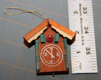 Cuckoo Clock Ornament Perfect For Your Dollhouse Miniature