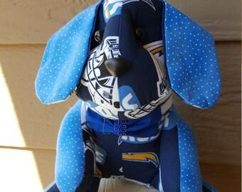 San Diego Chargers Football Dog