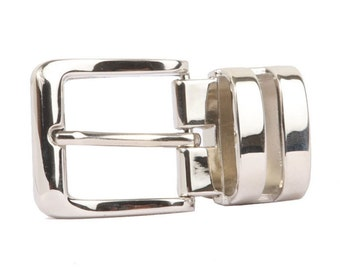 1 1/8 Inch (28 mm) Double Loop Clamp Belt Buckle(260KBL)