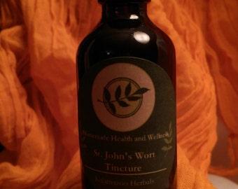 Organic St. John's Wort Tincture
