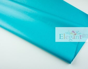 Tissue paper l Bright Turquoise Tissue paper l diy l gift wrap
