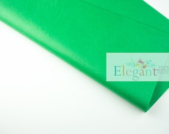 Tissue paper l Kelly Green Tissue paper l Gift Wraping l DIY