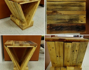 Triangular Pallet Chair
