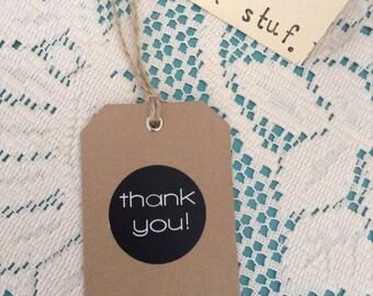 Thankyou Gift Tag