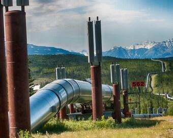 Alaskan Pipeline Museum Quality Fine Art Paper or Kodak Endura Lustr