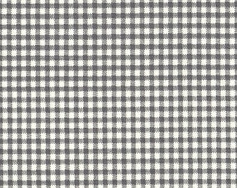 King Sham, Tailored, Brindle Gray Gingham Check
