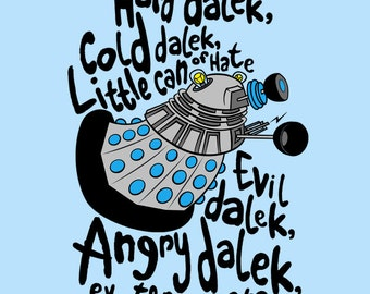 Hard Dalek, Cold Dalek (60's Dalek) - Doctor Who