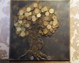 Painting Money Tree