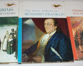 American Heritage Instant Collection -  The Many Worlds of Benjamin Franklin - The Pilgrims and Plymouth - Thomas Jefferson and His World